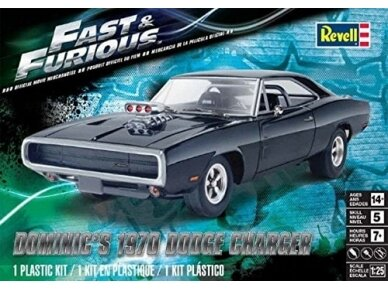 Revell - Dominic'S '70 Dodge Charger, Scale: 1/25, 14319