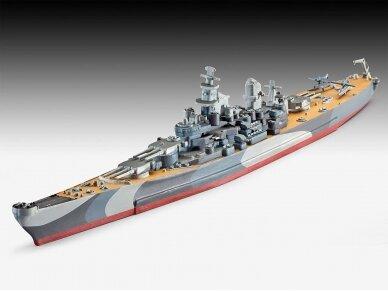 Revell - Battleship U.S.S. Missouri (WWII) Model Set, 1/1200, 65128 2