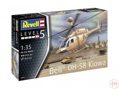 Revell - OH-58 Kiowa, Mastelis: 1/35, 03871 2