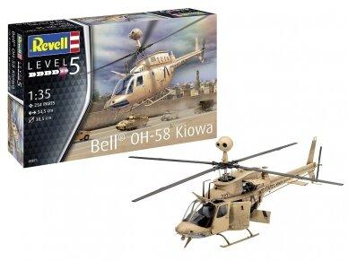 Revell - OH-58 Kiowa, Mastelis: 1/35, 03871