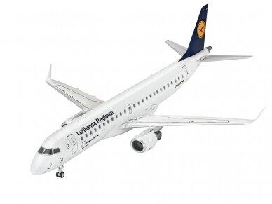 """Revell - Embraer 190 """"Lufthansa"""" Model Set, 1/144, 63937 2"""