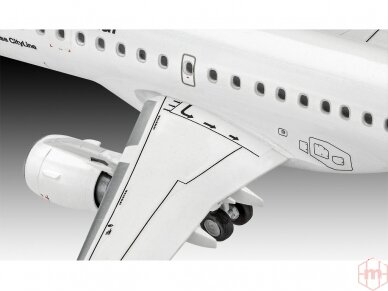 """Revell - Embraer 190 """"Lufthansa"""" Model Set, 1/144, 63937 5"""
