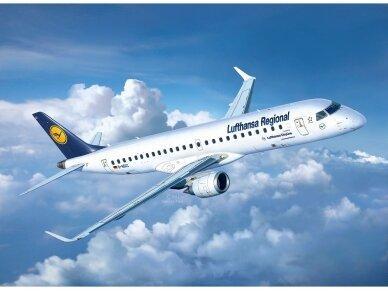 """Revell - Embraer 190 """"Lufthansa"""" Model Set, 1/144, 63937 7"""