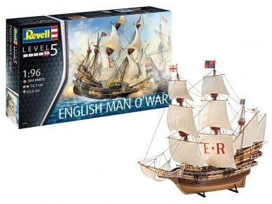 Revell - English Man O´War, Scale: 1/96, 05429