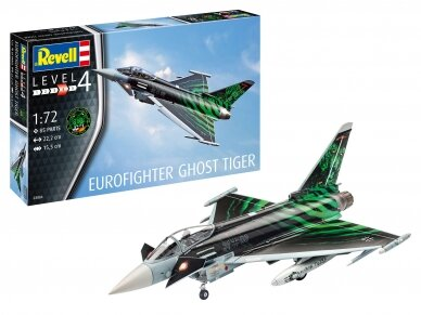 "Revell - Eurofighter ""Ghost Tiger"", Scale: 1/72, 03884"
