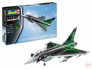 "Revell - Eurofighter ""Ghost Tiger"", Mastelis: 1/72, 03884"