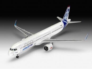 Revell - Airbus A321 Neo dovanų komplektas, Mastelis: 1/144, 64952 2