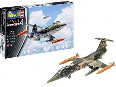 Revell - F-104 G Starfighter NL/B, Scale: 1/72, 03879