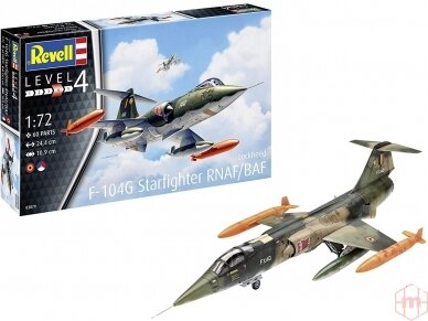 Revell - F-104 G Starfighter NL/B, 1/72, 03879