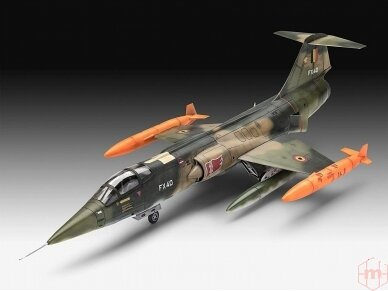 Revell - F-104 G Starfighter NL/B, Mastelis: 1/72, 03879 2