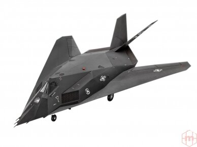 Revell - F-117A Nighthawk Steal dovanų komplektas, Mastelis: 1/72, 63899 3