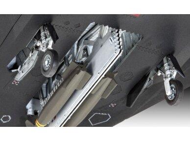 Revell - F-117A Nighthawk Steal dovanų komplektas, Mastelis: 1/72, 63899 4