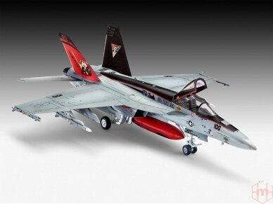 Revell - F/A-18E Super Hornet Gift set, 1/144, 63997 2