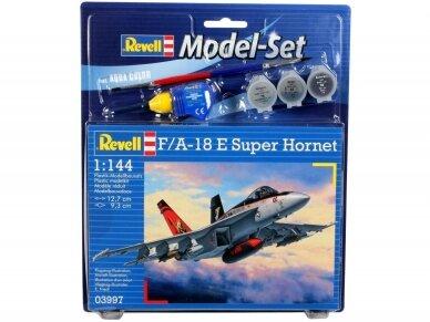 Revell - F/A-18E Super Hornet Gift set, 1/144, 63997