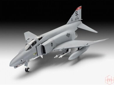 Revell - F-4E Phantom dovanų komplektas, Mastelis: 1/72, 63651 2