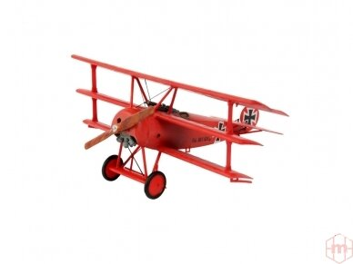 Revell - Fokker DR.1 Triplane dovanų komplektas, Mastelis: 1/72, 64116 2