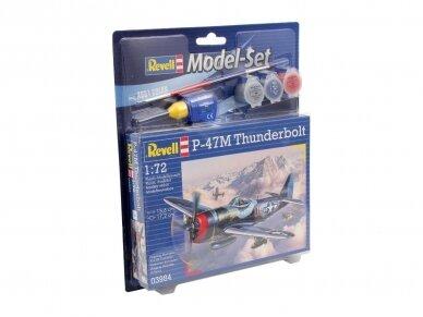 Revell - P-47M Thunderbolt dovanų komplektas, Mastelis: 1/72, 63984