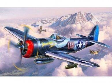 Revell - P-47M Thunderbolt dovanų komplektas, Mastelis: 1/72, 63984 2