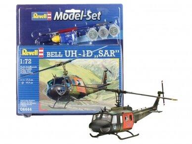 "Revell - Bell UH-1D ""SAR"" dovanų komplektas, Mastelis: 1/72, 64444"