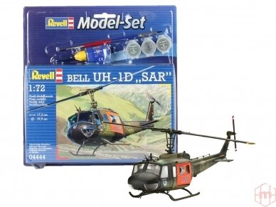 "Revell - Bell UH-1D ""SAR"" Model Set, 1/72, 64444"
