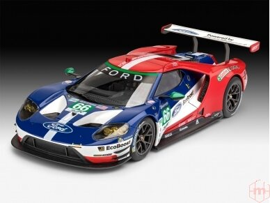 Revell - Ford GT Le Mans 2017, Mastelis: 1/24, 07041 2