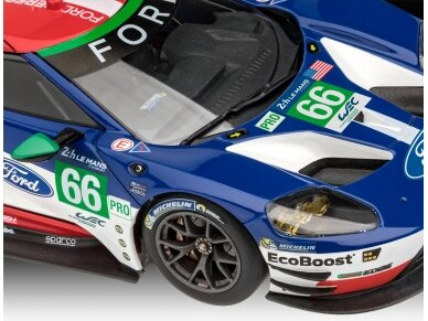 Revell - Ford GT Le Mans 2017, Mastelis: 1/24, 07041 3