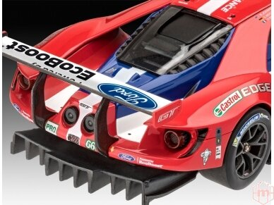 Revell - Ford GT Le Mans 2017, Mastelis: 1/24, 07041 4