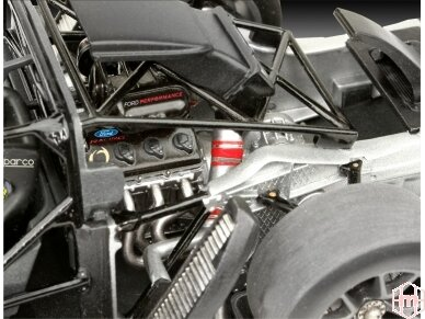 Revell - Ford GT Le Mans 2017, Mastelis: 1/24, 07041 5