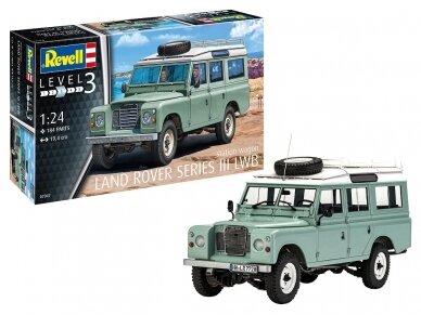 Revell - Land Rover Series III, Mastelis: 1/24, 07047