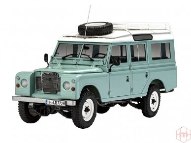 Revell - Land Rover Series III, Mastelis: 1/24, 07047 2