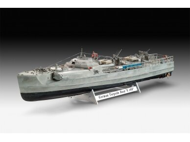 Revell - German Fast Attack Craft S-100, Mastelis: 1/72, 05162 2