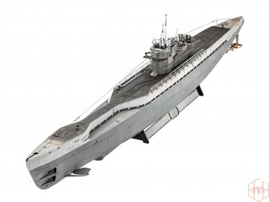 Revell - German Submarine Type IX C/40 (U190), Mastelis: 1/72, 05133 2
