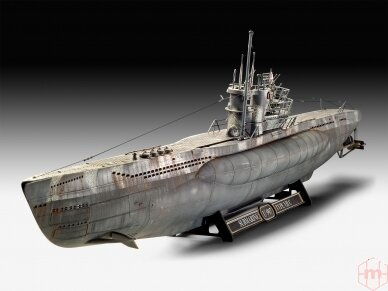 Revell - German Submarine Type VII C/41, Scale: 1/72, 05163 2