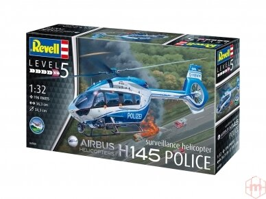 "Revell - H145 ""Police"", Scale: 1/32, 04980"