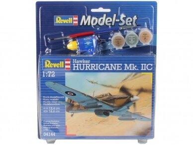 Revell - Hawker Hurricane Mk.II dovanų komplektas, Mastelis: 1/72, 64144