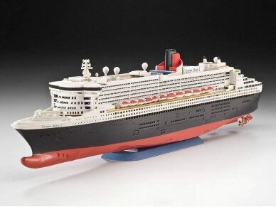Revell - Queen Mary 2 Model Set, Scale: 1/1200, 65808 2