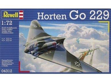 Revell - Horten Go 229, Mastelis: 1/72, 04312