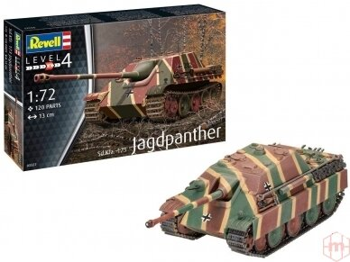 Revell - Jagdpanther Sd.Kfz.173, 1/72, 03327