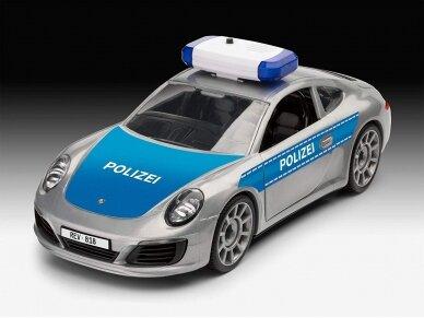 "Revell - JUNIOR KIT Porsche  911 ""Police"", Mastelis: 1/20, 00818 5"