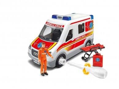 Revell - JUNIOR KIT Greitosios pagalbos mašina, Mastelis: 1/20, 00824 3