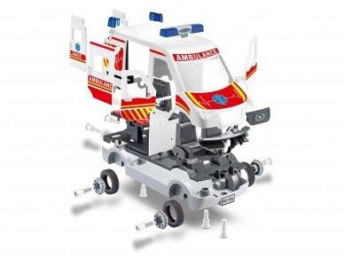 Revell - JUNIOR KIT Greitosios pagalbos mašina, Mastelis: 1/20, 00824 4