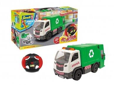 Revell - JUNIOR KIT RC Garbage Truck, 1/20, 00971