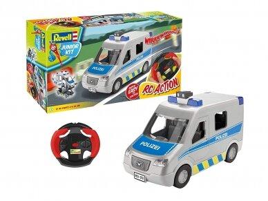 Revell - JUNIOR KIT RC Policijos mašina, 1/20, 00972