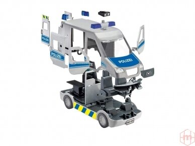 Revell - JUNIOR KIT RC Policijos mašina, 1/20, 00972 2