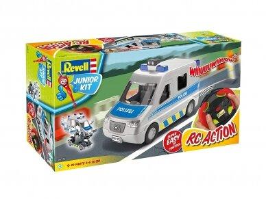 Revell - JUNIOR KIT RC Policijos mašina, 1/20, 00972 5
