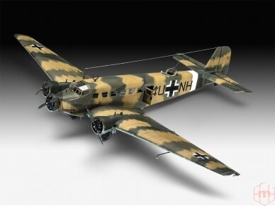 Revell - Junkers Ju52/3m Transport, Scale: 1/48, 03918 2