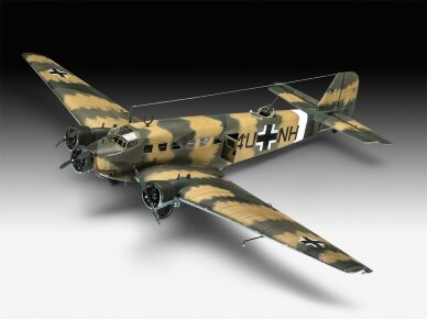 Revell - Junkers Ju52/3m Transport, Scale: 1/48, 03918 2
