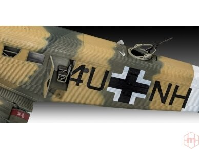 Revell - Junkers Ju52/3m Transport, Mastelis: 1/48, 03918 4
