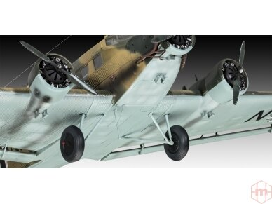 Revell - Junkers Ju52/3m Transport, Mastelis: 1/48, 03918 6