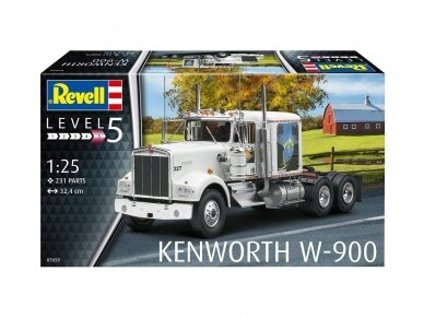Revell - Kenworth W-900, Scale: 1/25, 07659